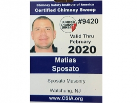 Certified Chimney Sweep 2020