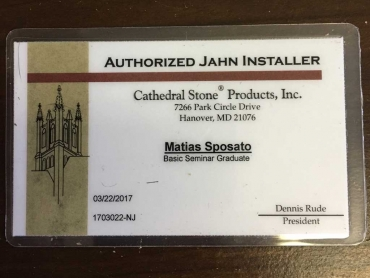 Authorized Jahn Installer