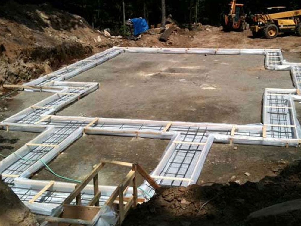 Footings foundations brickmen sposato masonry for Foundations for homes